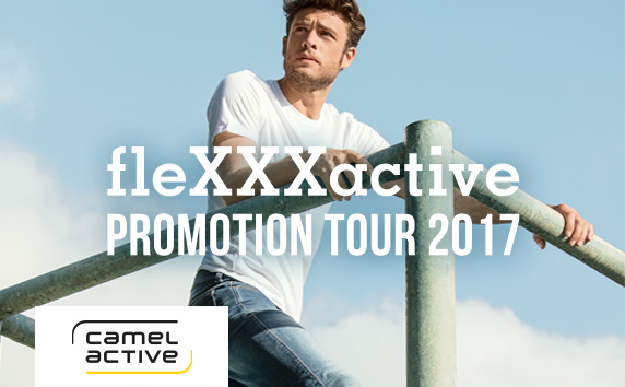 camel active<br />fleXXXactive PROMOTION TOUR 2017