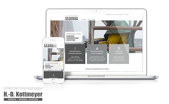 H.D. Kottmeyer Group Of Companies <br />Website Relaunch