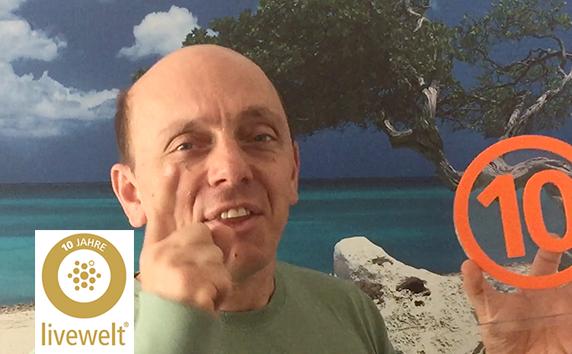 livewelt 10 Jahre<br>Video der Woche