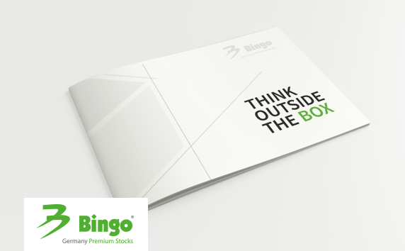 Bingo Germany<br>Imagebroschüre THINK OUTSIDE THE BOX