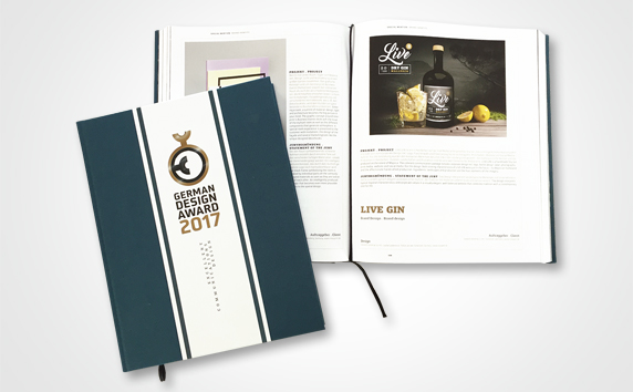 livewelt<br>German Design Award | LIVE GIN Brand Design