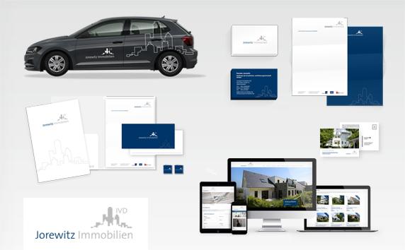 Jorewitz Immobilien<br>Markenkommunikation