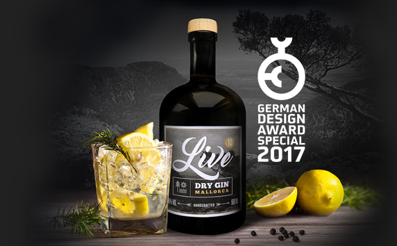 LIVE GIN<br>German Design Award Special 2017
