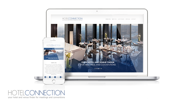 Hotel Connection<br>Website Relaunch