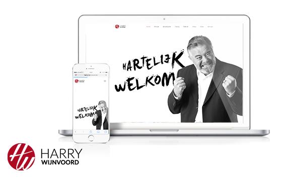 Harry Wijnvoord<br>Website Relaunch