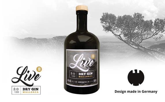LIVE GIN<br> Design Made in Germany