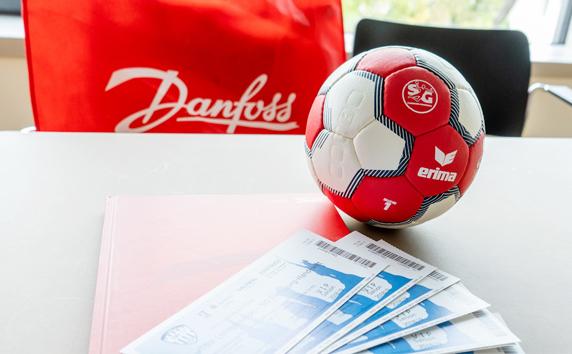 Danfoss<br>Aktivierung Handball-Sponsoring