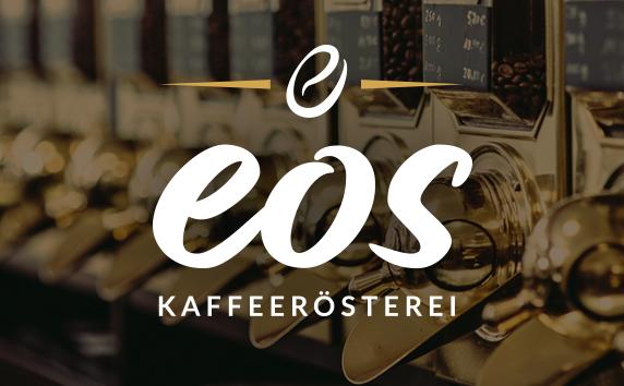 EOS Kaffeerösterei<br>Relaunch Markenauftritt