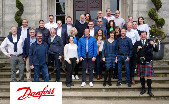 Danfoss<br>Leadership Summit Schottland 2019